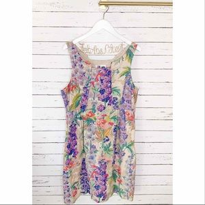 Anthro Edme & Esyllte Hyacinth Afternoon Dress